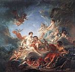 Francois Boucher Vulcan Presenting Venus with Arms for Aeneas painting