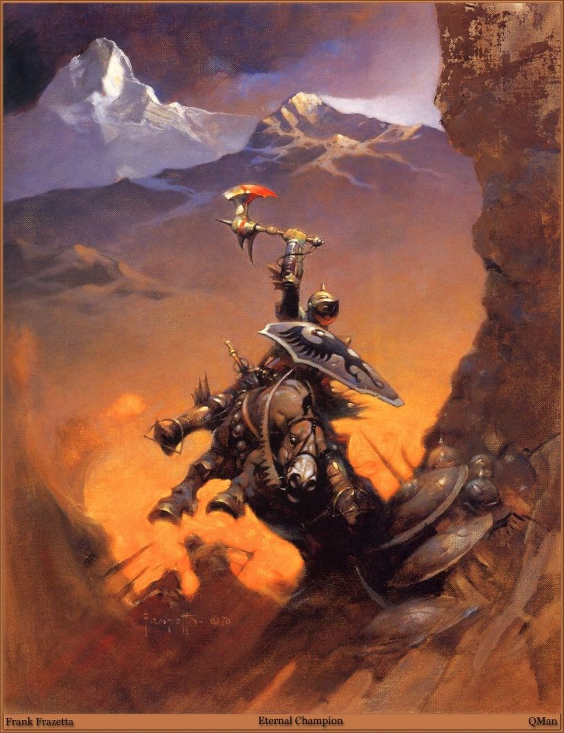 Frank Frazetta Eternal Champion