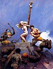 Frank Frazetta Desperation painting
