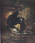 Frank Frazetta Grizzly Bear painting