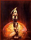 Frank Frazetta The Brain painting