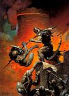 Frank Frazetta The Death Dealer V painting