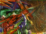 Franz Marc Fate of the Animals painting