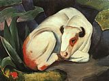 Franz Marc The Bull painting