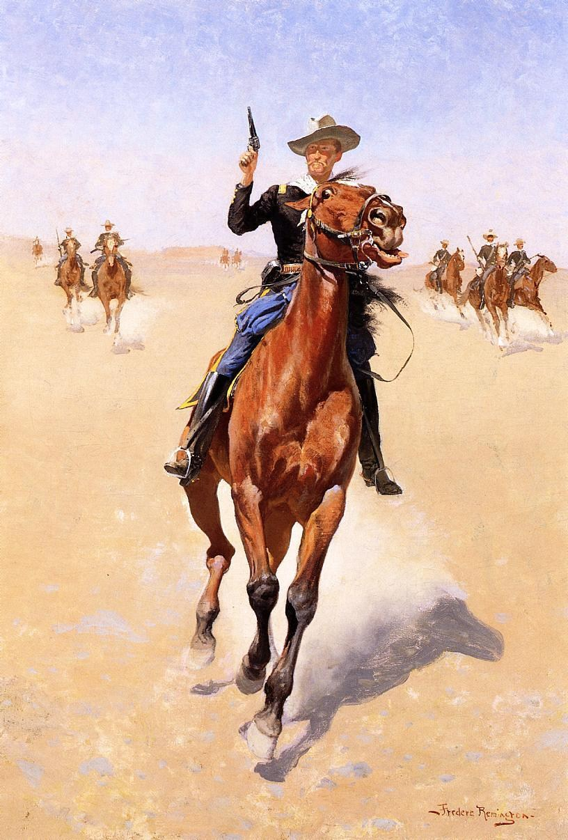 Charles Russell Art Prints - Cowboy Way