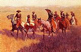 Hunting paintings - An Assault on His Dignity by Frederic Remington