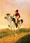 Hunting paintings - Modern Comanche by Frederic Remington