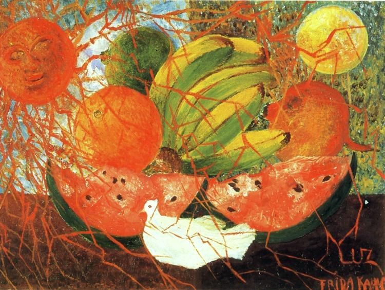 Frida Kahlo Fruit of Life