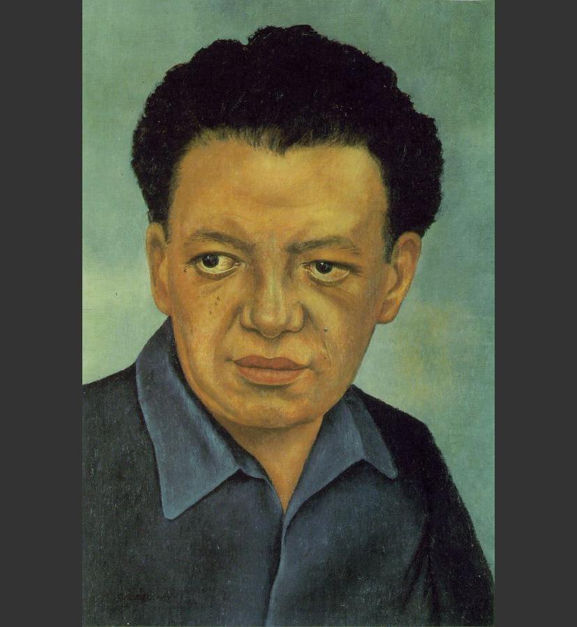frida kahlo portrait of diego rivera painting best