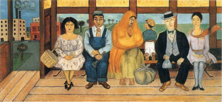 Frida Kahlo The Bus Painting Best Paintings For Sale