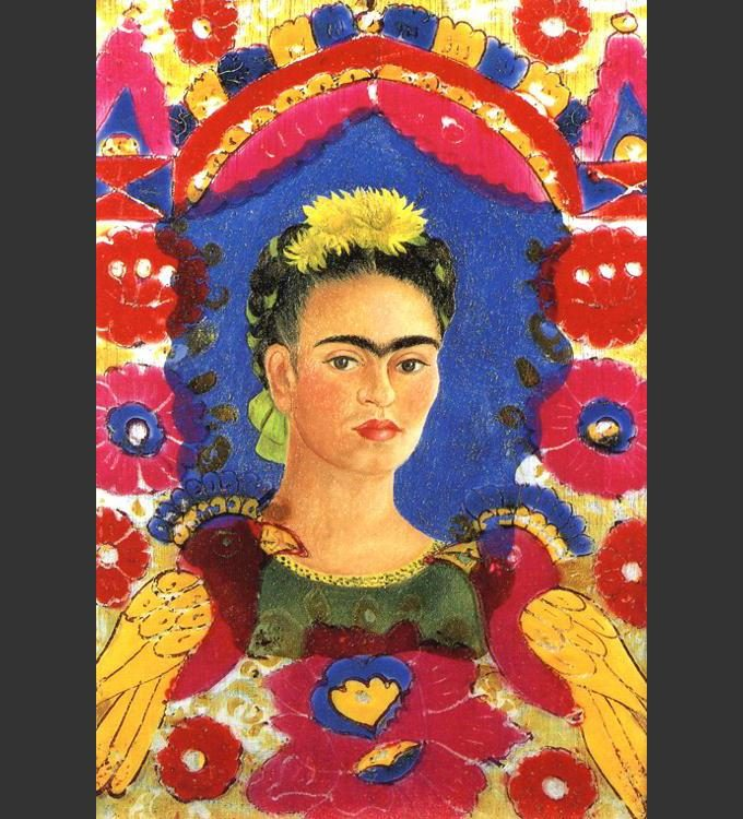 Frida Kahlo The Frame