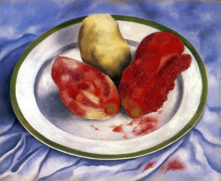 Frida Kahlo Tunas Still Life with Prickly Pear Fruit