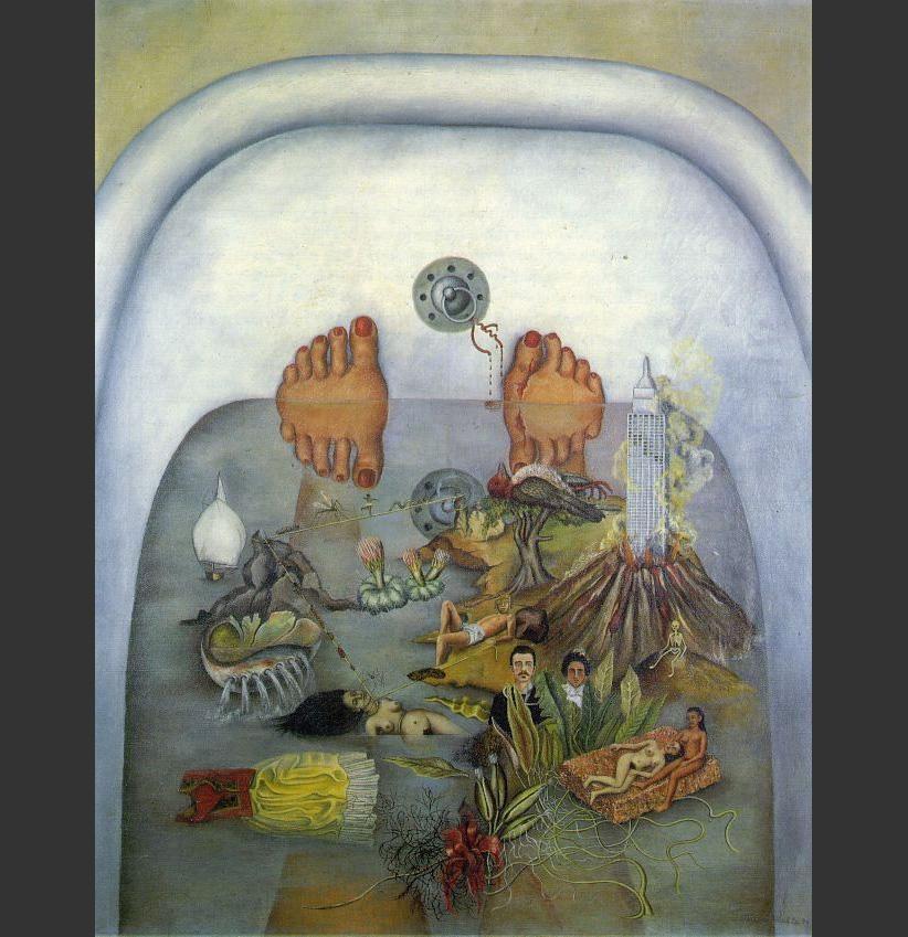 The Frame By Frida Kahlo