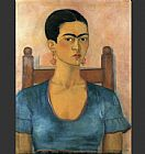 FridaKahlo-Self-Portrait-1930