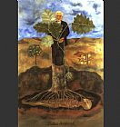Frida Kahlo Luther Burbank painting