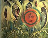 Frida Kahlo Sun and Life painting