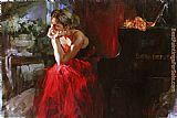 Garmash Michael and Inessa Garmash 1 painting