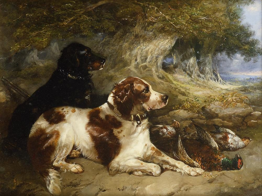George Armfield Gundogs with Game