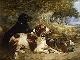 George Armfield Gundogs with Game painting