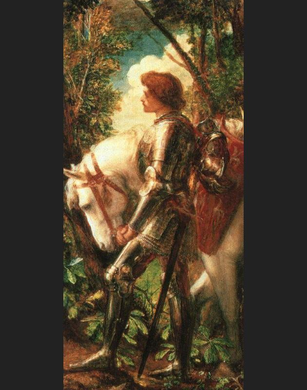 George Frederick Watts Sir Galahad