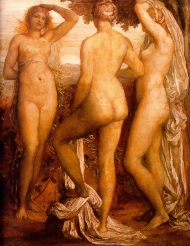 George Frederick Watts The Three Graces