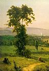 George Inness The Lackawanna Valley painting