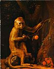 George Stubbs Green Monkey painting