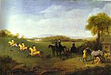 Racehorses Belonging to the Duke of Richmond Exercising at Goodwood