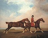 George Stubbs William Anderson with Two Saddle-horses painting