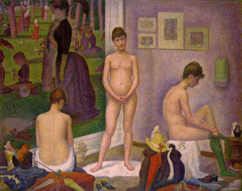 Georges Seurat The Models