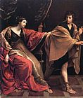 Guido Reni Joseph and Potiphars' Wife painting