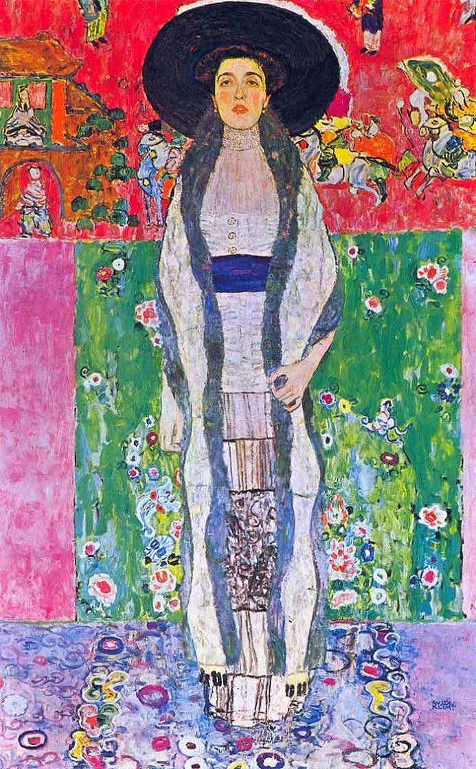 Gustav klimt portrait of adele bloch bauer painting best for Gustav klimt original paintings for sale