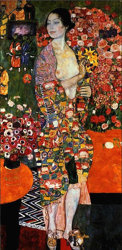 Gustav Klimt The Dancer