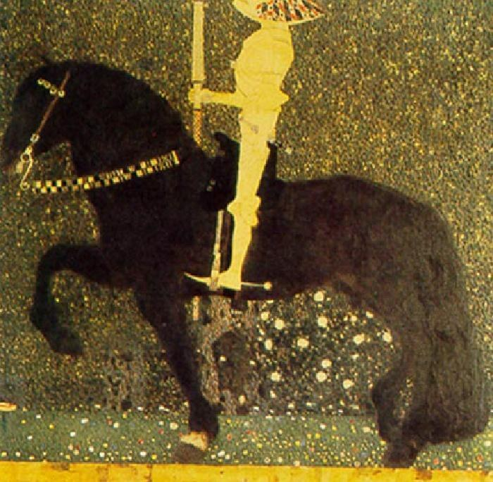 Gustav Klimt The Gold Cavalier