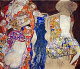 Gustav Klimt The Bride painting