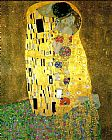 Gustav Klimt The Kiss (Le Baiser _ Il Baccio) painting