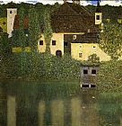 Gustav Klimt Water Castle painting