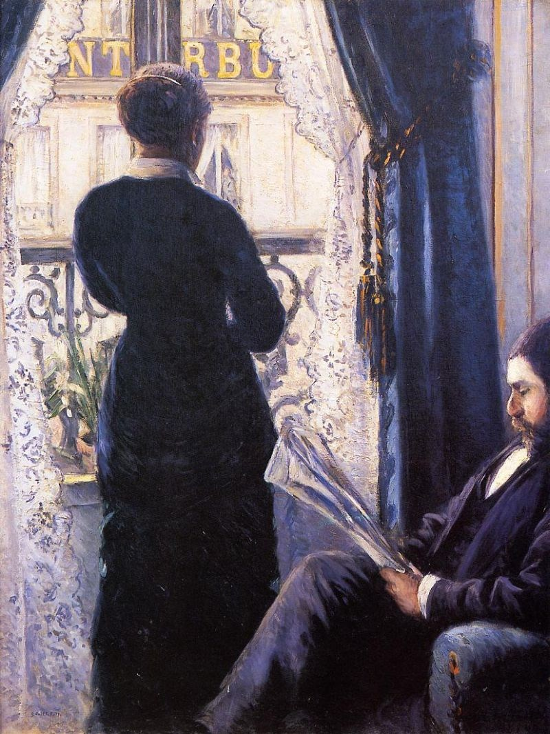 Gustave caillebotte interior painting best paintings for for Fenetre interieure