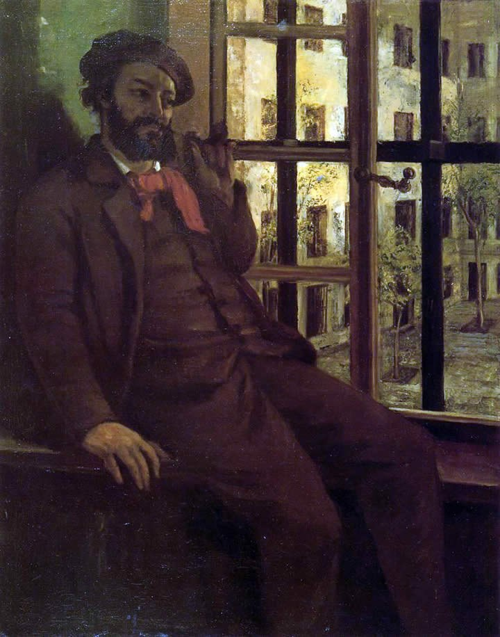 Gustave Courbet Self Portrait