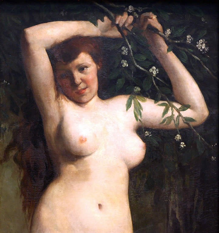 Gustave Courbet Torso of a Woman