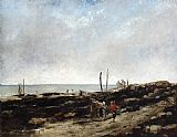 Gustave Courbet Going Fishing painting