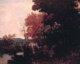 Gustave Courbet Lisiere de foret painting