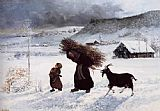 Gustave Courbet Poor Woman of the Village painting