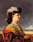 Gustave Courbet Portrait of Countess Karoly painting