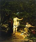 Gustave Courbet The Bathers painting