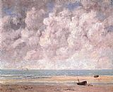Gustave Courbet The Calm Sea painting