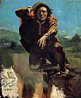 Gustave Courbet The Desperate Man painting