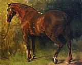 Gustave Courbet The English Horse of M Duval painting