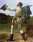 Gustave Courbet The Homecoming painting