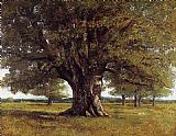 Gustave Courbet The Oak at Flagey painting